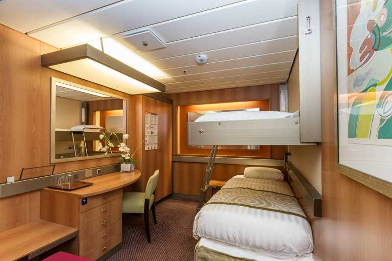 All These Cabins Are Equipped With A Flat Screen Television, Hairdryer And  Personal Safe.